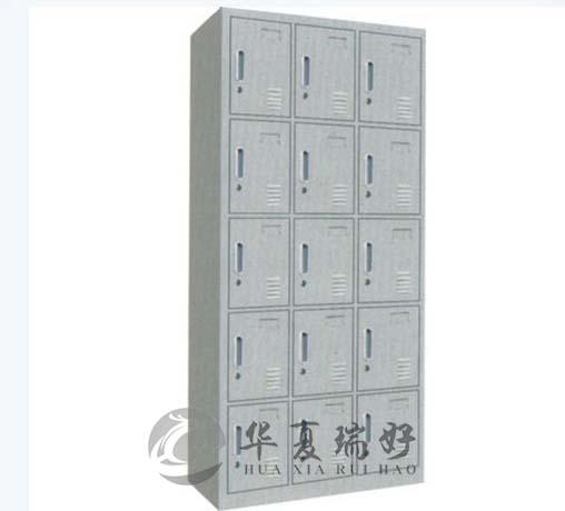 RH-WJ03型 十五门更衣柜